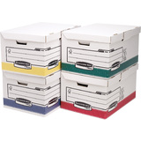 Fellowes bankers BOX system Archiv-Klappdeckelbox Maxi