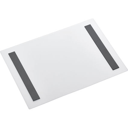 magnetoplan Magnet-Tasche Magnetofix, A4 quer, transparent