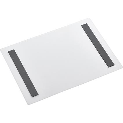 magnetoplan Magnet-Tasche magnetofix, A4 hoch, transparent