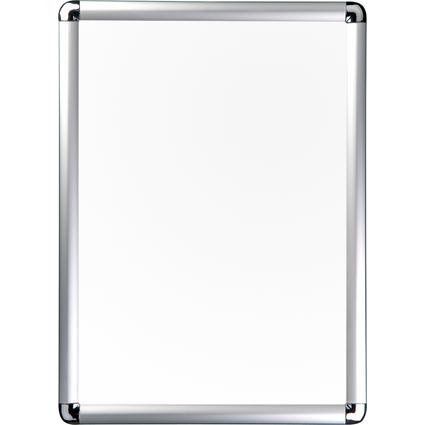 magnetoplan Plakatrahmen SP, DIN A4, silber eloxiert