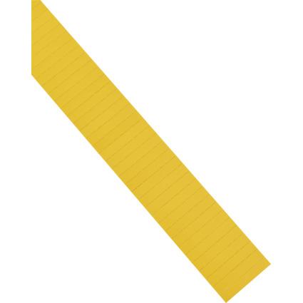 magnetoplan ferrocard Etiketten, 50 x 10 mm, gelb