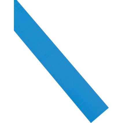 magnetoplan ferrocard Etiketten, 60 x 15 mm, blau