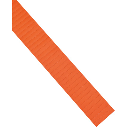 magnetoplan ferrocard Etiketten, 60 x 15 mm, orange