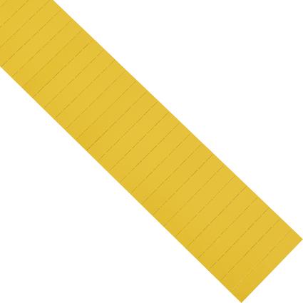 magnetoplan ferrocard Etiketten, 60 x 22 mm, gelb