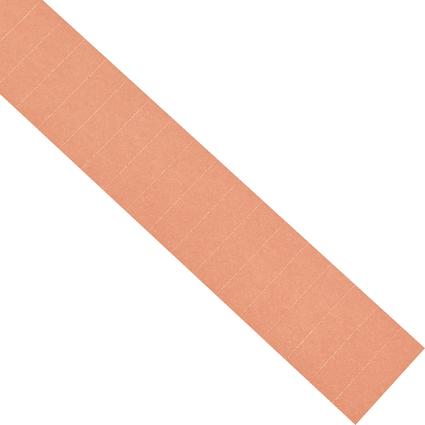 magnetoplan Einsteckschilder, rosa, für 50 x 15 mm