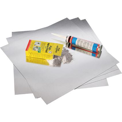 """magnetoplan Wandplatten-Set """"magnetowand"""", Inhalt: 5 qm"""