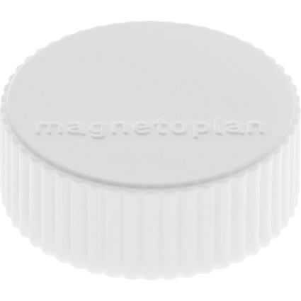 """magnetoplan Discofix Rundmagnet """"magnum"""", weiß"""