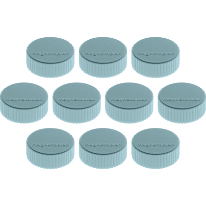 "magnetoplan Discofix Rundmagnet ""magnum"", blau"