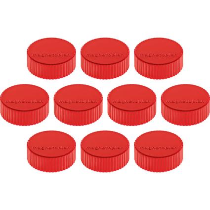 "magnetoplan Discofix Rundmagnet ""magnum"", rot"