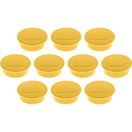 "magnetoplan Discofix Rundmagnet ""color"", gelb"