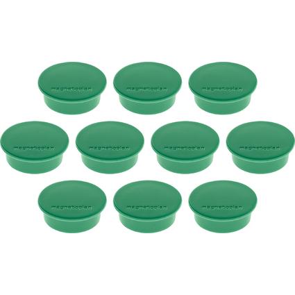 "magnetoplan Discofix Rundmagnet ""color"", grün"