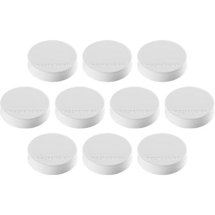 "magnetoplan Ergo-Magnete ""Medium"", weiss"