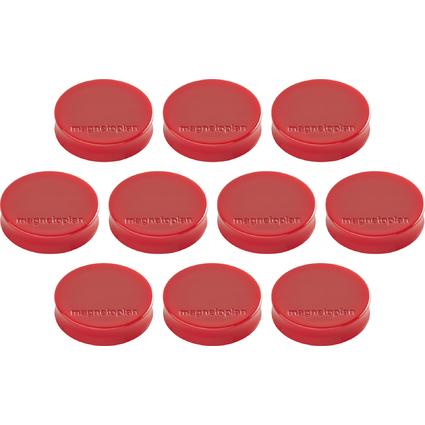 "magnetoplan Ergo-Magnete ""Medium"", rot"