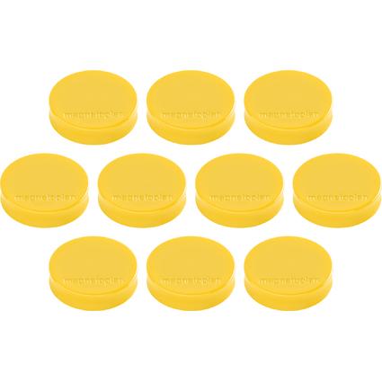 """magnetoplan Ergo-Magnete """"Medium"""", goldgelb"""