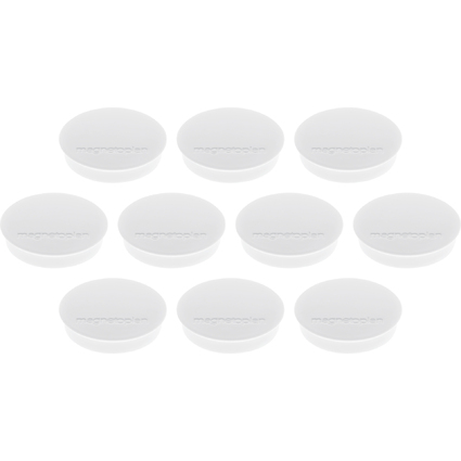 """magnetoplan Discofix Rundmagnet """"standard"""", weiß"""