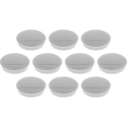 "magnetoplan Discofix Rundmagnet ""standard"", grau"