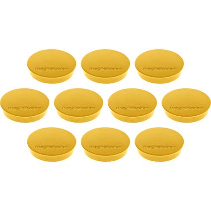 "magnetoplan Discofix Rundmagnet ""standard"", gelb"