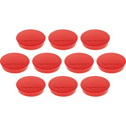 "magnetoplan Discofix Rundmagnet ""standard"", rot"