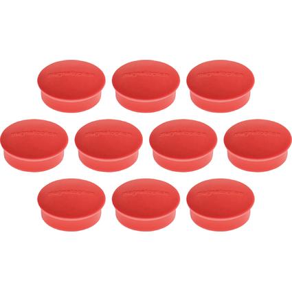 "magnetoplan Discofix Rundmagnet ""mini"", rot"