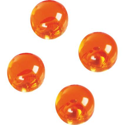 magnetoplan Magnetkugeln, Durchmesser: 14 mm, orange