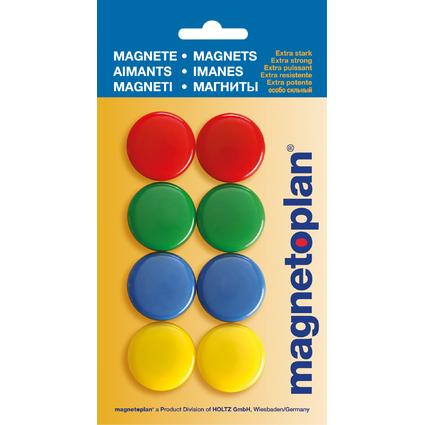 magnetoplan Signalmagnete 30 mm, farbig sortiert