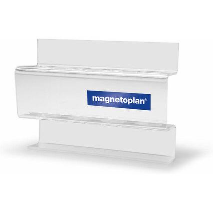 magnetoplan Acryl Markerhalter, für 4 Boardmarker
