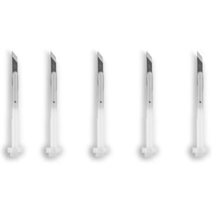 transotype Druckknopfmesser-Ersatzklingen, 45 Grad