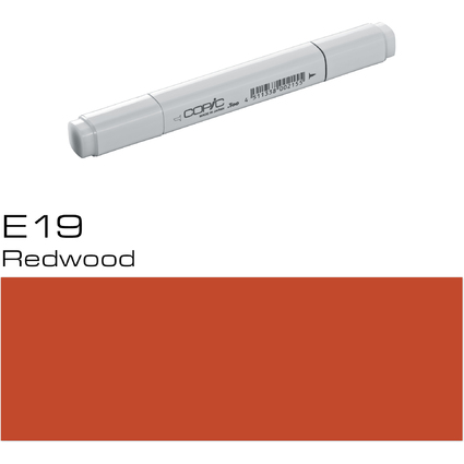 COPIC Profi Marker, Redwood E-19