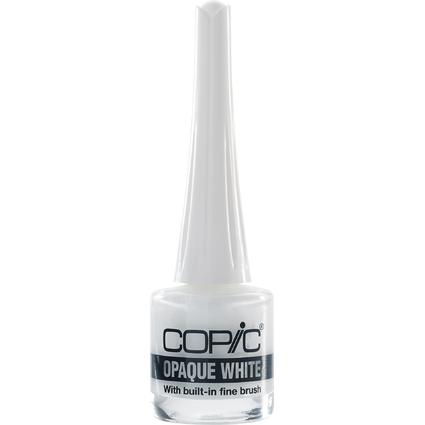 COPIC Opaque White, Flacon inkl. Pinsel, Inhalt: 7 ml