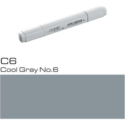 COPIC Profi Marker, Cool Gray No. 6
