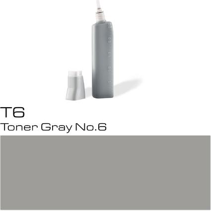 COPIC Nachfülltank für COPIC Marker, toner gray T-6