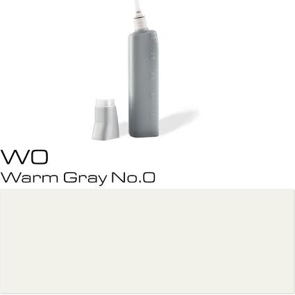COPIC Nachfülltank für COPIC Marker, warm gray No.0 W-0