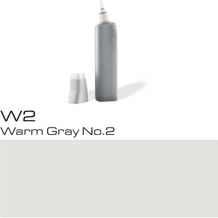 COPIC Nachfülltank für COPIC Marker, warm gray No.2 W-2