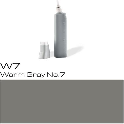 COPIC Nachfülltank für COPIC Marker, warm gray  W-7