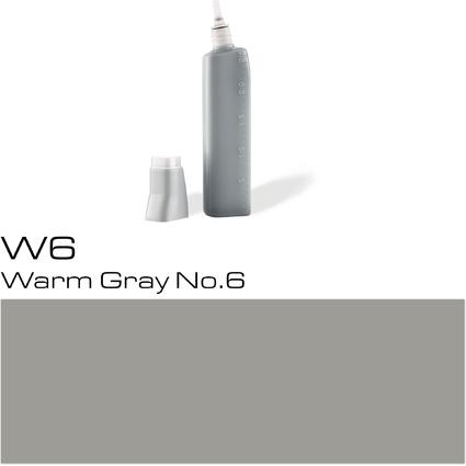 COPIC Nachfülltank für COPIC Marker, warm gray W-6