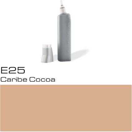 COPIC Nachfülltank für COPIC Marker, caribe cocoa E-25