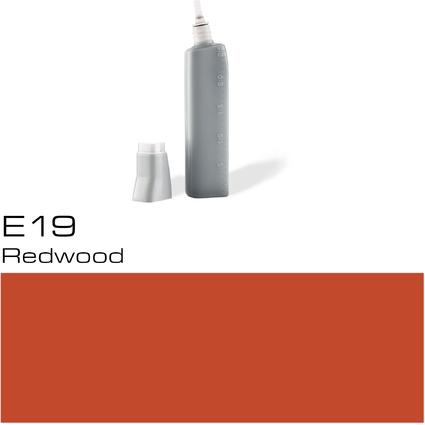 COPIC Nachfülltank für COPIC Marker, redwood E-19