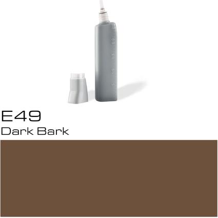 COPIC Nachfülltank für COPIC Marker, dark bark E-49