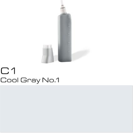 COPIC Nachfülltank für COPIC Marker, cool gray C-1
