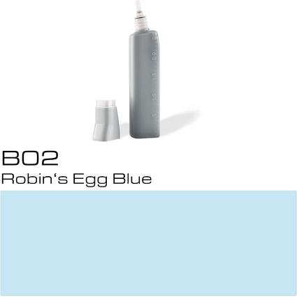 COPIC Nachfülltank für COPIC Marker, robin's egg blue B-02
