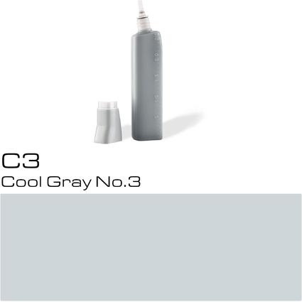 COPIC Nachfülltank für COPIC Marker, cool gray C-3