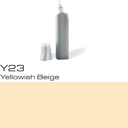 COPIC Nachfülltank für COPIC Marker, yellowish beige Y-23