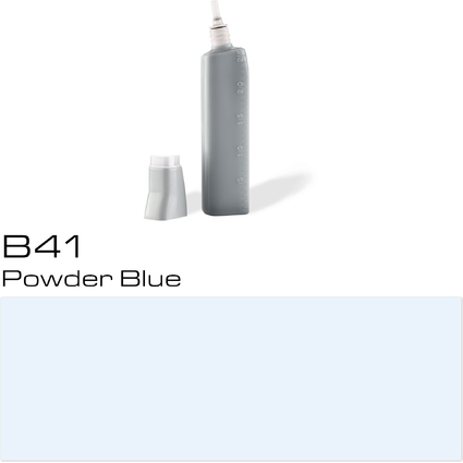 COPIC Nachfülltank für COPIC Marker, powder blue B-41