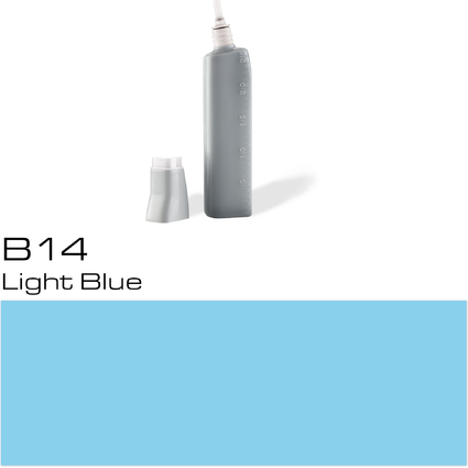 COPIC Nachfülltank für COPIC Marker, light blue B-14