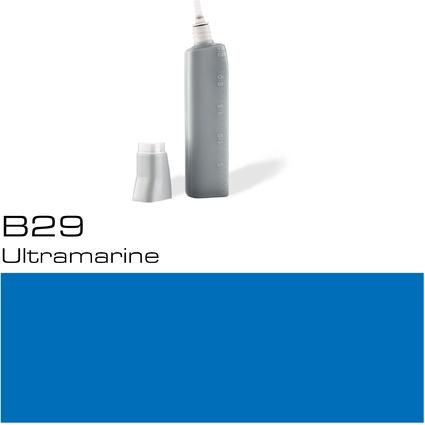 COPIC Nachfülltank für COPIC Marker, ultramarine B-29