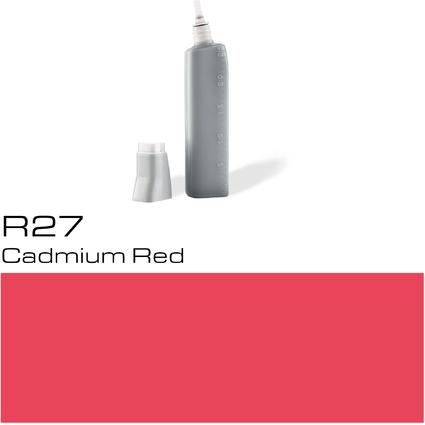 COPIC Nachfülltank für COPIC Marker, cadmium red R-27
