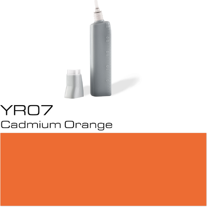 COPIC Nachfülltank für COPIC Marker, cadmium orange YR-07