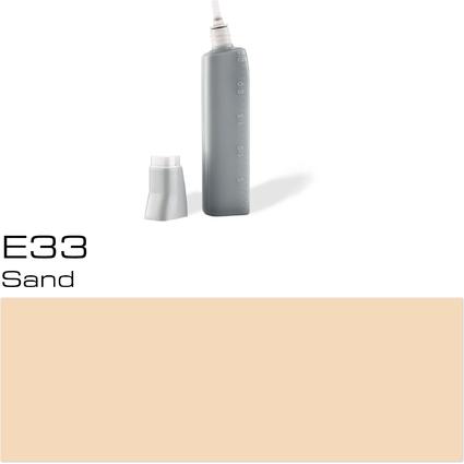 COPIC Nachfülltank für COPIC Marker, sand E-33