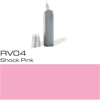 COPIC Nachfülltank für COPIC Marker, shock pink RV-04
