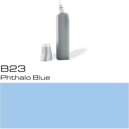 COPIC Nachfülltank für COPIC Marker, phthalo blue B-23